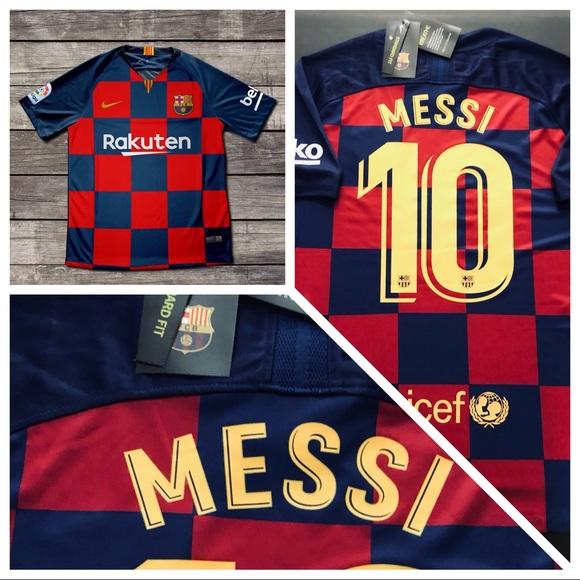 461be32b288 Nike Shirts | 2019 New Home Barcelona Messi 10 Soccer Jersey | Poshmark